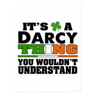 It's a Darcy Thing You Wouldn't Understand. Postcard