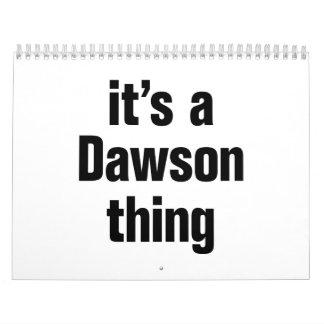its a dawson thing calendar
