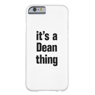 its a dean thing barely there iPhone 6 case