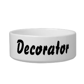 It's a decorator thing! bowl