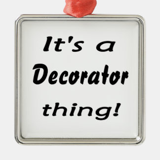 It's a decorator thing! metal ornament