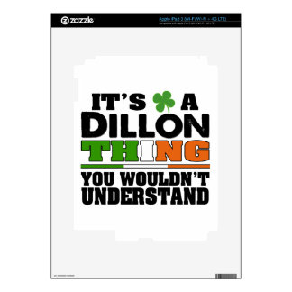 It's a Dillon Thing You Wouldn't Understand. iPad 3 Skins