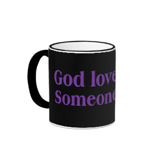 It's a dirty job, but God is up to it Ringer Mug