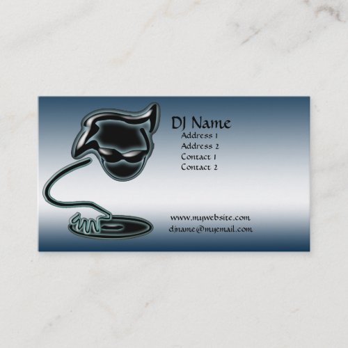 It's a DJ Thing Business Card