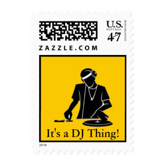 It's a DJ Thing! Postage