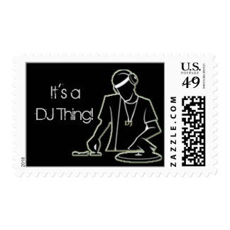 It's a DJ Thing! Stamp