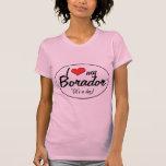 It's a Dog! I Love My Borador T-shirt
