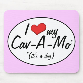 It's a Dog! I Love My Cav-A-Mo Mouse Pads