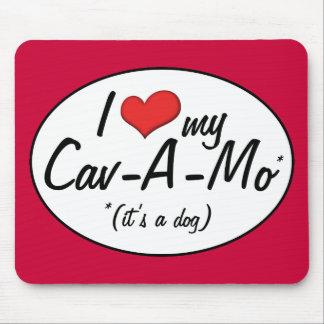 It's a Dog! I Love My Cav-A-Mo Mousepad