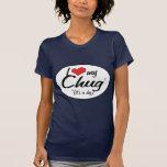It's a Dog! I Love My Chug T-shirt