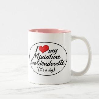 It's a Dog! I Love My Miniature Goldendoodle Coffee Mug