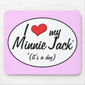 It's a Dog! I Love My Minnie Jack Mouse Pad