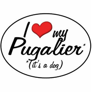 It's a Dog! I Love My Pugalier Cutout