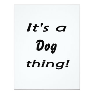 It's a dog thing! personalized announcements