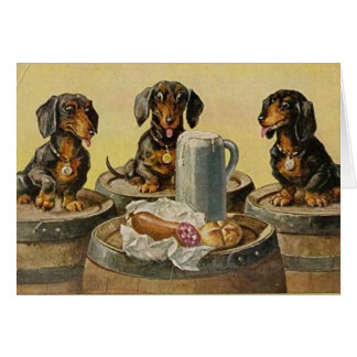 It's A Doggone Party Invitation Card