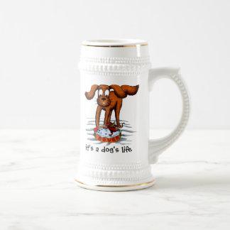 it's a dog's life coffee mug