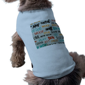 """It's A Dog's Life"""" Doggie Ribbed Tank Top"""