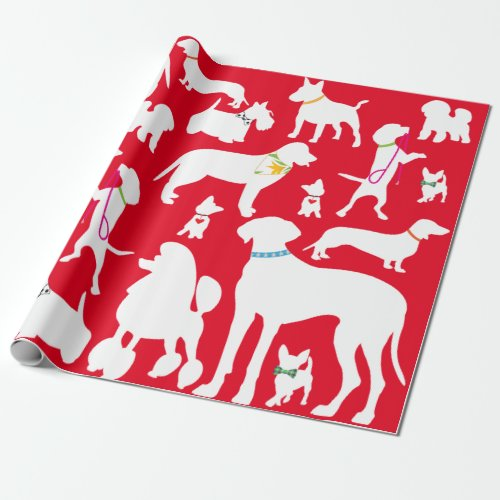 Its A Dogs Life Wrapping Paper