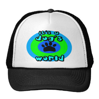 It's A Dog's World Hats