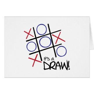 It's A Draw! Card
