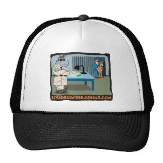 It's a Drug Free Jungle Trucker Hat