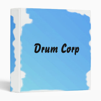 It's a drum corp thing! 3 ring binder