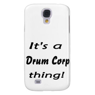 It's a drum corp thing! samsung galaxy s4 case