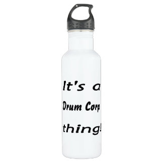 It's a drum corp thing! 24oz water bottle