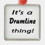 It's a drumline thing! christmas ornaments