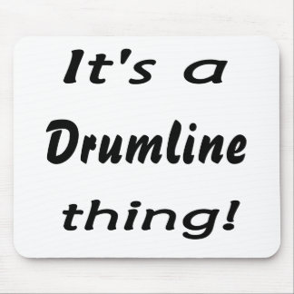 It's a drumline thing! mouse pad