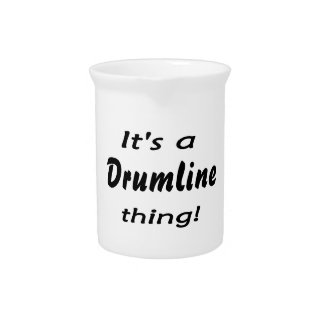 It's a drumline thing! pitcher
