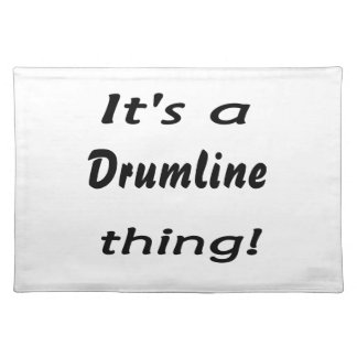 It's a drumline thing! placemat