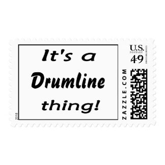 It's a drumline thing! postage