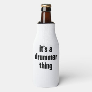 its a drummer thing bottle cooler
