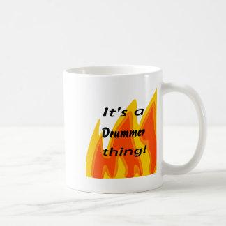 It's a drummer thing! coffee mug