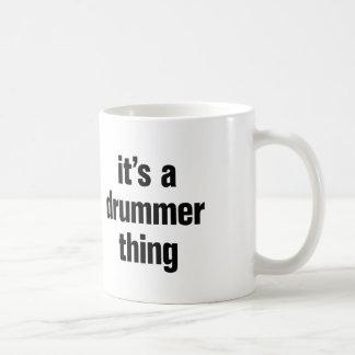 its a drummer thing coffee mug