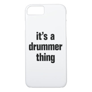 its a drummer thing iPhone 7 case