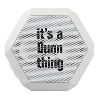 its a dunn thing white boombot rex bluetooth speaker