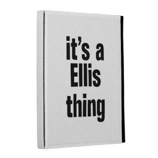 its a ellis thing iPad folio covers