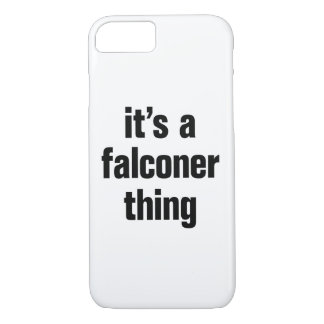 its a falconer thing iPhone 8/7 case