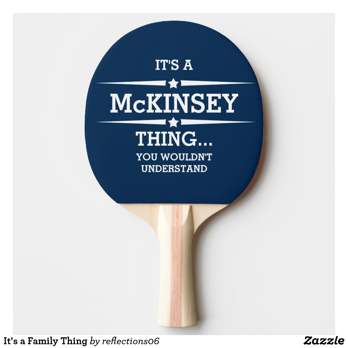 It's a Family Thing Ping-Pong Paddle