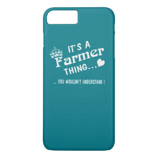 It's a Farmer thing iPhone 7 Plus Case