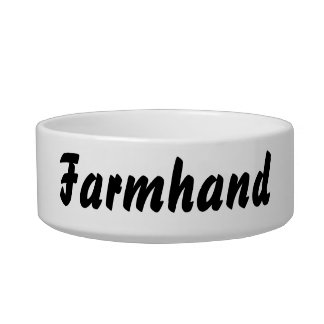 It's a farmhand thing! pet water bowl
