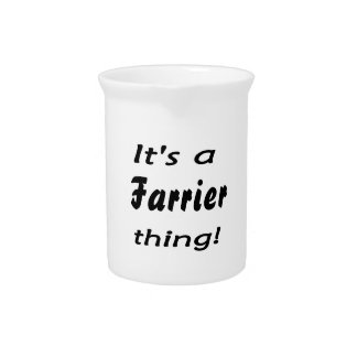 It's a farrier thing! pitcher