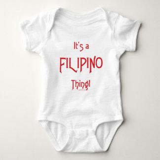 It's a Filipino Thing! Baby Bodysuit