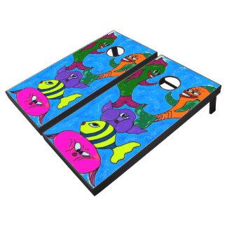It's A Fishy Cornhole Game Set Cornhole Set