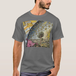 It's a Flat Earth After All Flammarion Woodcut Tee