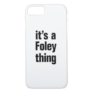 its a foley thing iPhone 8/7 case