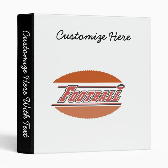 It's a Football T-shirts and Gifts 3 Ring Binder