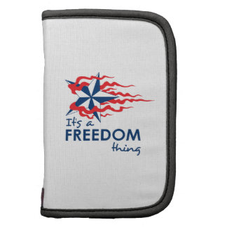 ITS A FREEDOM THING PLANNERS